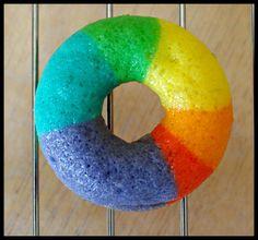 Rainbow Doughnuts
