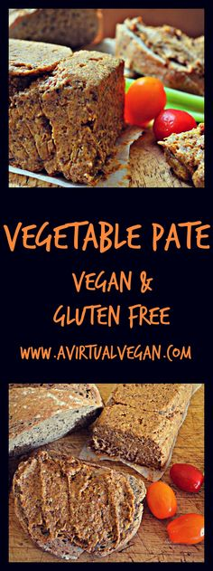A rich smooth vegetable pate with a delicious nutty crunch. Great for spreading on crackers, celery, fresh bread or toast. via @avirtualvegan