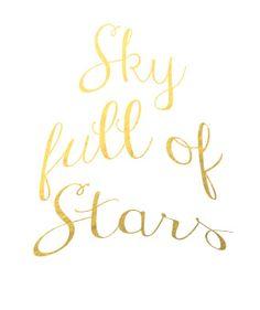 #skyfullofstars #coldplay