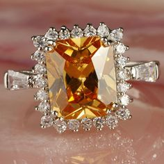 Such a beautiful colour! Artisan Jewelry, Antique Jewelry, Vintage Jewelry, Candy Jewelry, Cute Jewelry, Topaz Jewelry, Diamond Jewelry, Right Hand Rings, Topaz Ring