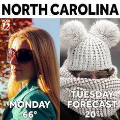 North Carolina, Crochet Hats, Knitting Hats
