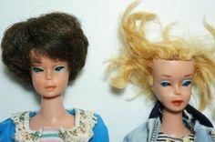 Vintage 1958 Mattel Barbie Dolls www.wonderfinds.com/item/3_271210030416/c250/vintage-Barbie-Dolls