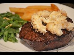 Fuzzy's Kitchen - Surf and Turf. The only thing that could make this meal better?  A yacht and a monocle.