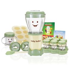 Baby Bullet—Everything you need to make a week's worth of all-natural baby food in just minutes. The Baby Bullet is perfect for making all 3 stages of baby food.