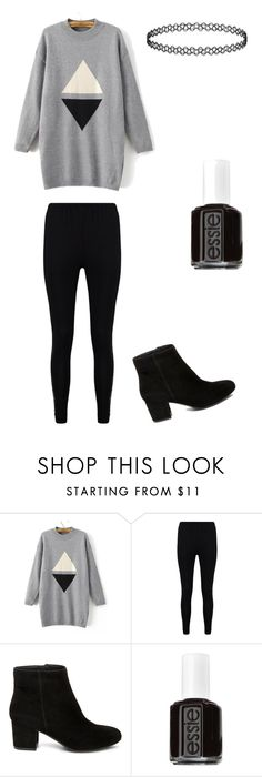 """""""Up Down"""" by okcaitlyn on Polyvore featuring Boohoo, Steve Madden and Essie"""