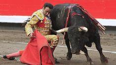 Enrique Ponce se dobla con un victorino en la plaza de toros de Bilbao