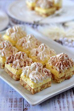 No Cook Desserts, Cookie Desserts, Sweet Desserts, Easy Desserts, Cookie Recipes, Delicious Desserts, Dessert Recipes, Yummy Food, Hungarian Desserts