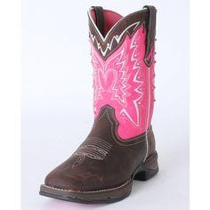 Durango Ladies' Pink Ribbon Western Boot ($130) found on Polyvore
