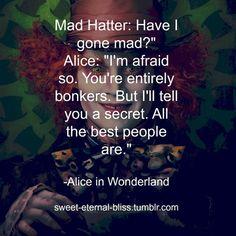 alice in wonderland quote | Tumblr