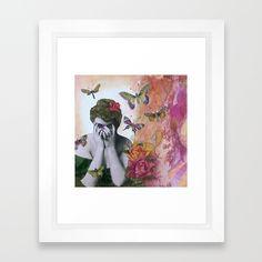Spring Framed Art Print by Grace Bello.