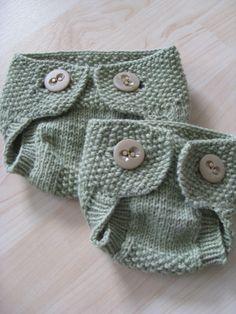 Little Seedling Soaker By Christine Blyden - Free Knitted Pattern - (ravelry)