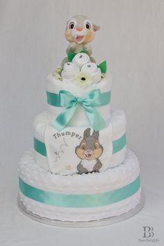 Disney Thumper Nappy Diaper Cake