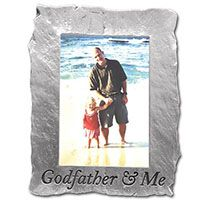 godfather and me slate look photo frame gift for godfather find it at