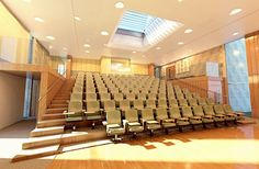 Small lecture hall design concept.