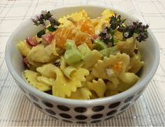 Liian hyvää: Hedelmäinen broileri-pastasalaatti Potato Salad, Macaroni And Cheese, Cabbage, Salads, Easy Meals, Food And Drink, Healthy Recipes, Healthy Food, Vegetables
