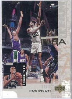 1994-1995 94-95 Upper Deck #AN 18 All-NBA David Robinson ---> shipping is $0.01 !!!