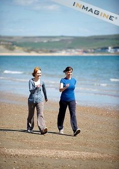 walking on the beach as exercise | sister secrets weight loss « Sisters Secrets