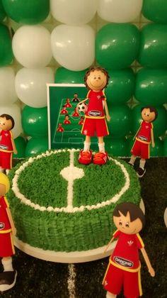 Bolo festa de futebol