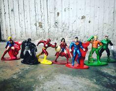 Justice League Metals Die Cast, Justice League, Diecast, Painting, Art, League Of Justice, Painting Art, Paintings, Kunst