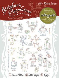 SR1 Stitcher's Revolution Robots Invade!