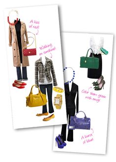 For the majority of women, getting an authentic designer handbag isn't something to rush straight into. Because these hand bags can easily be so costly, ladies generally agonize over their choices before making an actual bag acquisition. Yellow Purses, Yellow Handbag, Red Purses, Yellow Jewelry, Red Jewelry, Yellow Shoes, Yellow Outfits, Red Shoes, Color Splash