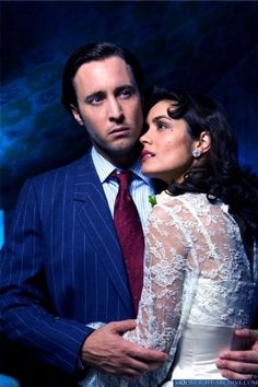 Moonlight - Mick St. John (Alex O'Loughlin) and Coraline DuVall (Shannyn Sossamon)