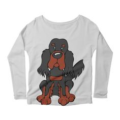 Calling all Gordon Setter Lovers!  Check this design as well as 100s more designs in the Angry Squirrel Studio Threadless Artist Shop. Available in multiple colors and styles. #threadless #artistshop #angrysquirrelstudio #dogsofpinterest #GordonSetter https://angrysquirrelstudio.threadless.com
