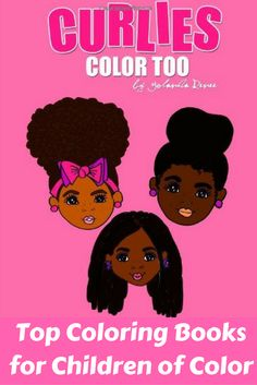 """This coloring book is a cute book, created by blogger Yolanda Renee, inspired by her daughters, Skylar and Taylor. Not only does it feature a ton of fun images to color, but it also lists """"curlie girl"""" books and hair products to help you navigate the hair world with your little one. Along with educational activities like number counting and even ABC's, this book is perfect for even the littlest girl of color. It is a coloring book and a helpful resource for both you and your child!"""