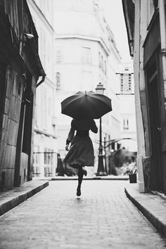 by Kalle Gustafsson -- so many great umbrella shots in b/w