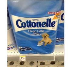 Walgreens: HOT! Unadvertised Cottonelle Catalina = $2.50 for a 12pack!!