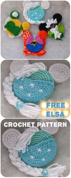 Elsa Mouse crochet pattern