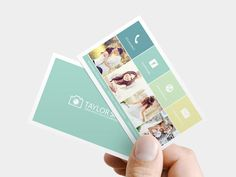 Premade Photography Business Card Custom photographer by MMXLV