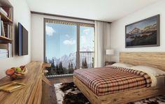 STOMEO Architektur Visualisierung - Zürich 3d Modelle, Bed, Furniture, Home Decor, Architecture Visualization, Real Estates, Floor Layout, Bed Room, Photo Illustration