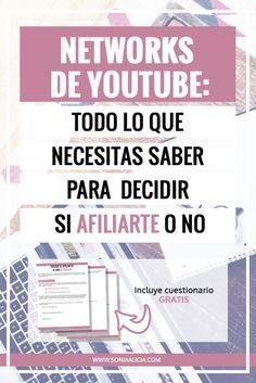Networks de Youtube: Todo lo que necesitas saber para decidir si entras a una o no