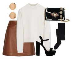 """""""Untitled #4485"""" by magsmccray on Polyvore featuring Reiss, Acne Studios, MANGO, Proenza Schouler and Victoria Beckham"""
