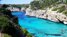 Calo des Moro Beach Tourism, Spain - Next Trip Tourism Spain Tourism, Paradise, Beach, Water, Outdoor, Aqua, Outdoors, Seaside, Outdoor Games