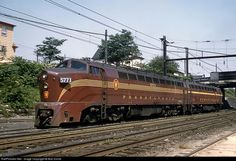 """Pennsylvania Railroad Baldwin """"Sharknose"""" car body (AAR) 2000 H. Electric Locomotive, Diesel Locomotive, South Amboy, Railroad Pictures, Southern Railways, Pennsylvania Railroad, Covered Wagon, Train Pictures, New York Central"""