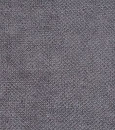Home Decor Solid Fabric-Signature Series  Chenille Dark Gray