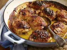 Sticky Tracklements Sweet Mustard Ketchup Barbecue Chicken Thighs Thai Chicken, Barbecue Chicken, Bbq, Chicken Patties, Sausage Rolls, Honey Mustard, Chicken Thighs, Poultry, Potato Salad
