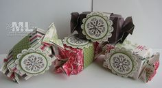 candy wrapper bigz die stampin up quick gift christmas