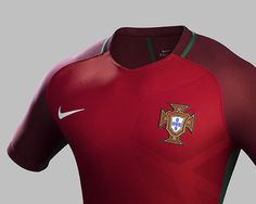 Portugal Euro 2016 Nike Home Kit - OFFICAL