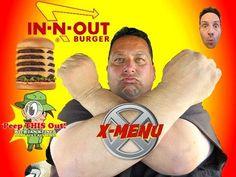 IN-N-OUT® 5X5 BURGER~An X-MENU review w/Peep THIS Out!