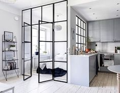 WEBSTA @ norsuinteriors - Those windows!!! Honestly @mainstreetsthlm you've nailed this apartment, it's exquisite. by @clearcutfactory #whatdreamsaremadeof