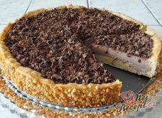 Nejrychlejší zdravý koláč bez cukru a mouky | NejRecept.cz Panna Cotta, Tiramisu, Cheesecake, Food And Drink, Sweets, Snacks, Baking, Ethnic Recipes, Herd