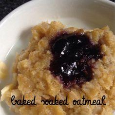 baked oatmeal // o'mamas