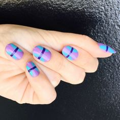 If you are fond of vibrating and dreamy shades in your nail product collection, then, Zoya Nail Polish offers you … Cute Nail Art, Beautiful Nail Art, Easy Nail Art, Cute Nails, Pretty Nails, Simple Nail Art Designs, Nail Polish Designs, Nail Designs, Lavender Nail Polish