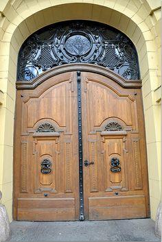It's just a Gate in Szeged, Hungary Great Plains, Doorway, Art World, Hungary, Budapest, Creative Art, Windows, Balconies, Gate