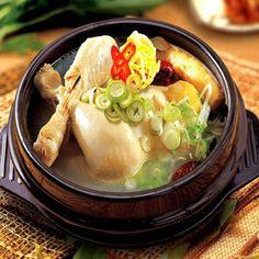 health food~~~~한국음식 삼계탕
