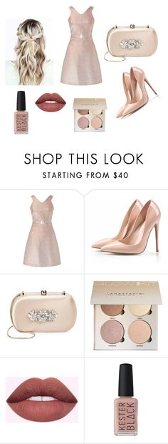 """Party look"" by miloni-jhaveri on Polyvore featuring Miss Selfridge, Badgley Mischka and Kester Black"