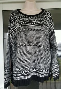 Old Navy Womens Sweater Black White Large New with Tags in Clothing, Shoes & Accessories, Women's Clothing, Sweaters | eBay